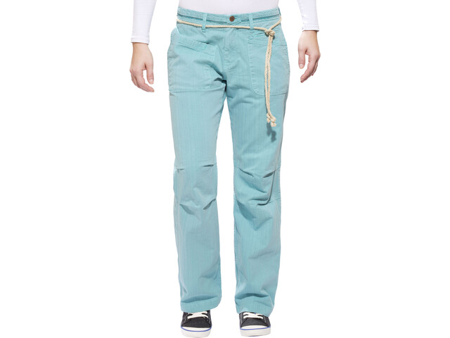 Red Chili Shima Pantalones Mujer, dusty turquoise